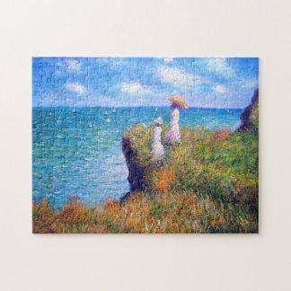 Claude Monet: Cliff Walk at Pourville Jigsaw Puzzle
