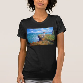 Claude Monet: Cliff Walk at Pourville T-Shirt