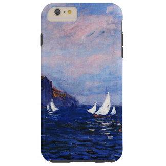 Claude Monet-Cliffs and Sailboats at Pourville Tough iPhone 6 Plus Case