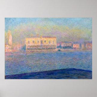 Claude Monet Doge's Palace San Giorgio Maggiore Poster