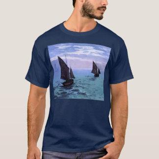 Claude Monet: Fishing Boats on their Way T-Shirt
