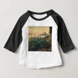 Claude Monet - Flowered Riverbank Argenteuil Baby T-Shirt