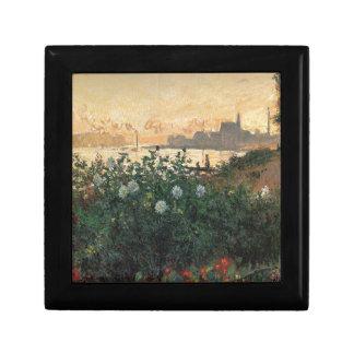 Claude Monet - Flowered Riverbank Argenteuil Gift Box