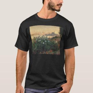 Claude Monet - Flowered Riverbank Argenteuil T-Shirt