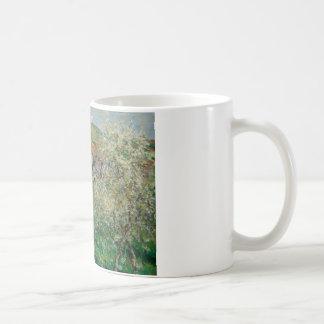 Claude Monet - Flowering Plum Trees Coffee Mug