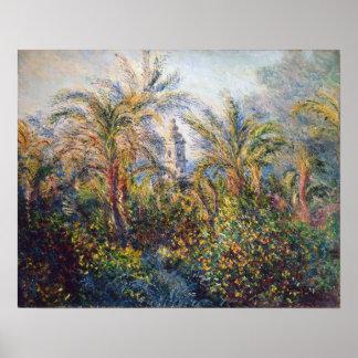 Claude Monet | Garden in Bordighera Poster