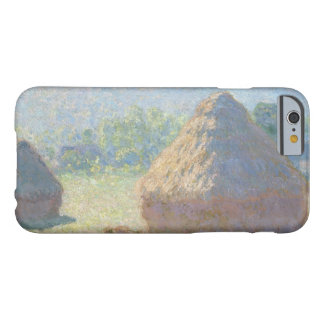 Claude Monet - Haystacks, End of Summer Barely There iPhone 6 Case