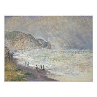 Claude Monet - Heavy Sea at Pourville Art Photo