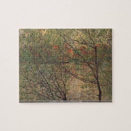 Claude Monet - Hotel of Roches Noires Trouville Jigsaw Puzzle
