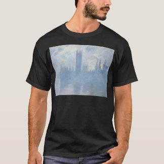 Claude Monet - Houses of Parliament London Art T-Shirt
