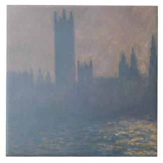 Claude Monet - Houses of Parliament, Sunlight Ceramic Tile