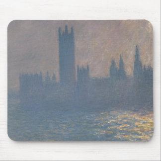 Claude Monet - Houses of Parliament, Sunlight Mouse Pad