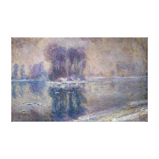 Claude Monet Ice Floes Canvas Print