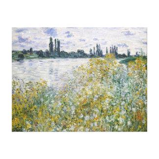 Claude Monet Île aux Fleurs near Vétheuil Canvas Print