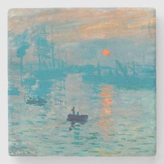 CLAUDE MONET - Impression, sunrise 1872 Stone Coaster