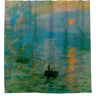 Claude Monet Impression, Sunrise Shower Curtain