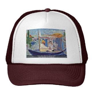 Claude Monet In His Studio (Argenteuil) Trucker Hat