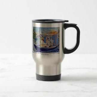 Claude Monet In His Studio (Argenteuil) Mugs