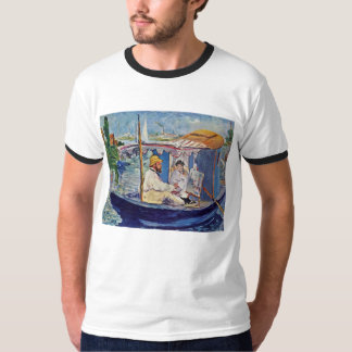 Claude Monet In His Studio (Argenteuil) Shirts