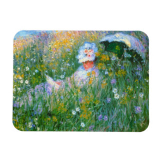 "Claude Monet ""In The Meadow"" Magnet"