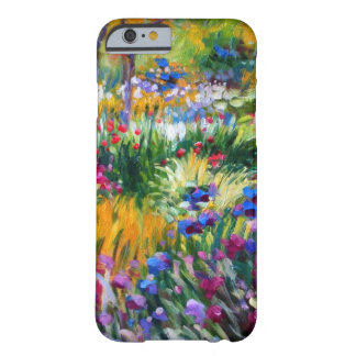 Claude Monet: Iris Garden by Giverny Barely There iPhone 6 Case
