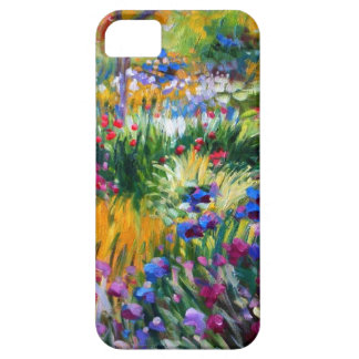 Claude Monet Iris Garden by Giverny iPhone 5 Covers