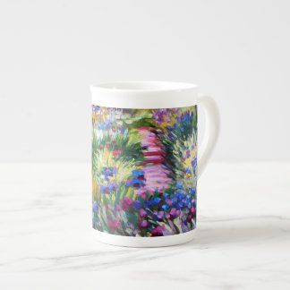 Claude Monet: Iris Garden by Giverny Tea Cup