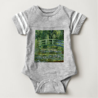Claude Monet - Japanese Bridge Baby Bodysuit