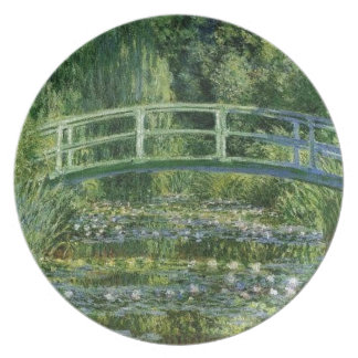 Claude Monet - Japanese Bridge Plate