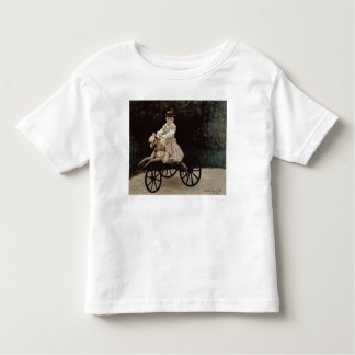 Claude Monet | Jean Monet on his Hobby Horse, 1872 Toddler T-Shirt
