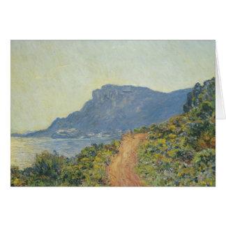 Claude Monet - La Corniche near Monaco Card