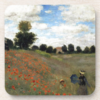 Claude Monet - Les Coquelicots Coaster