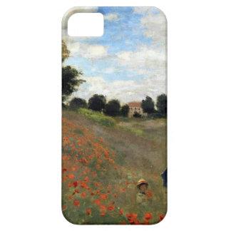 Claude Monet - Les Coquelicots iPhone 5 Cases