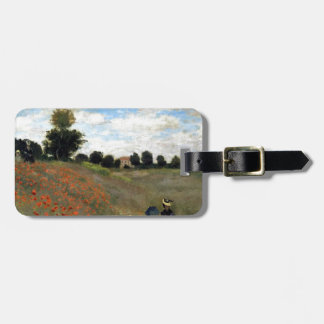Claude Monet - Les Coquelicots Luggage Tag