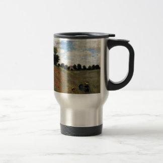 Claude Monet - Les Coquelicots Travel Mug