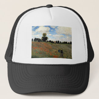 Claude Monet - Les Coquelicots Trucker Hat
