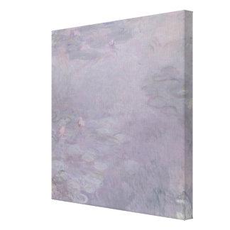 Claude Monet   Light-coloured Waterlilies Canvas Print
