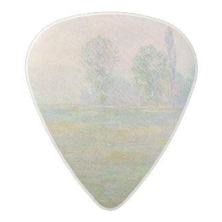 Claude Monet | Meadows in Giverny, 1888 Acetal Guitar Pick