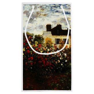 Claude Monet-Monet's Garden at Argenteuil Small Gift Bag