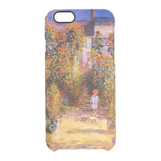 Claude Monet-Monet's Garden at Vétheuil Clear iPhone 6/6S Case