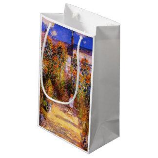 Claude Monet-Monet's Garden at Vétheuil Small Gift Bag
