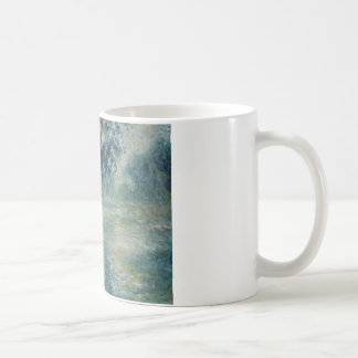 Claude Monet - Morning on the Seine Coffee Mug