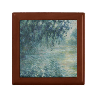 Claude Monet - Morning on the Seine Small Square Gift Box