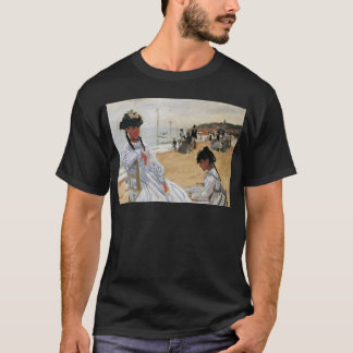 Claude Monet Mother and Child Mother's Day Card T-Shirt