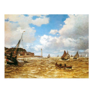 Claude Monet Mouth of the Seine Postcard
