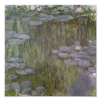 Claude Monet | Nympheas at Giverny, 1918 Poster