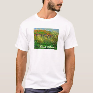 Claude Monet Painting Basic T-Shirt