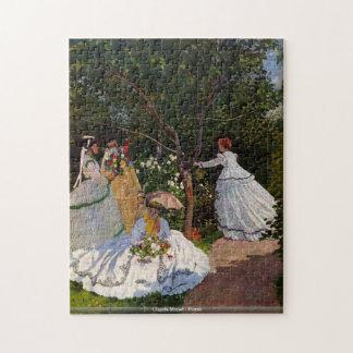 Claude Monet - Picnic Jigsaw Puzzle