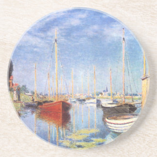 Claude Monet: Pleasure Boats at Argenteuil Coaster