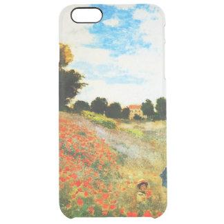 Claude Monet-Poppies at Argenteuil Clear iPhone 6 Plus Case